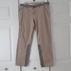 Pilcro and the Letterpress tan khakis size 32